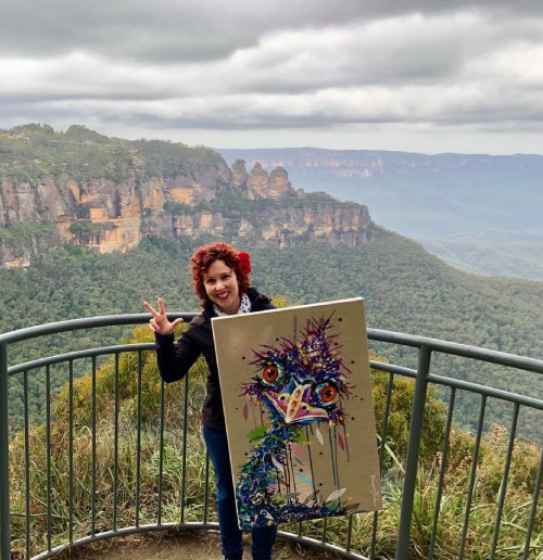 The 3 Sisters, Blue Mountains, Sydney. Vanessa Perske